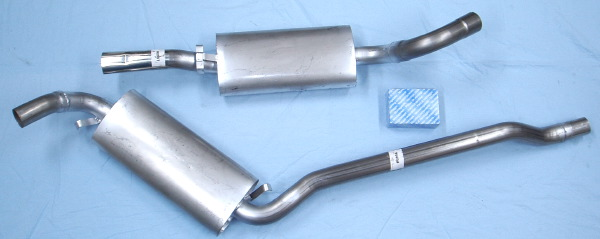 image stainless-steel-exhaust Audi 90 2.3