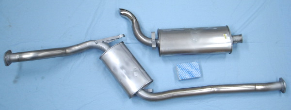 Picture stainless-steel-exhaust SAAB 9000 16V turbo