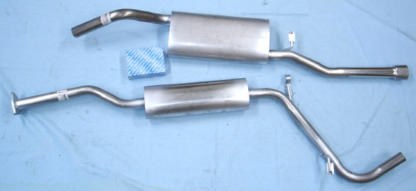 Picture stainless-steel-exhaust Skoda Felicia 1.3