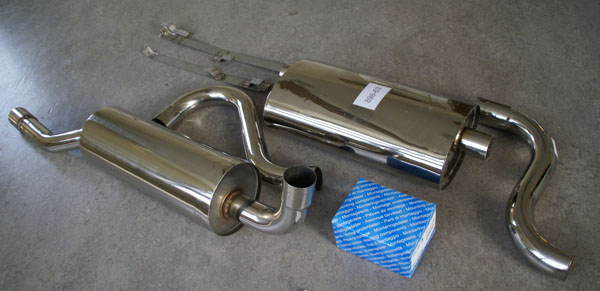 Pictures Volvo Stainless Steel Exhausts (mufflers) e.g ...
