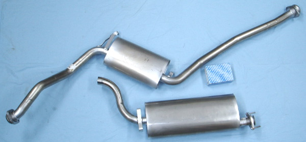 Image stainless-steel-exhaust SAAB 9000i