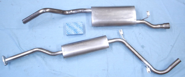 Image stainless-steel-exhaust Skoda Felicia 1.3 pick-up