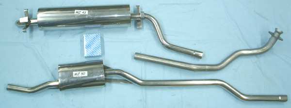 Pictures Mercedes Benz Stainless Steel Exhaust