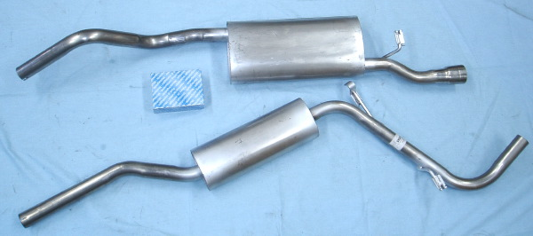 Photo stainless-steel-exhaust Skoda Felicia 1.3 pick-up