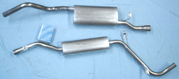 Picture stainless-steel-exhaust Skoda Felicia 1.6 pick-up