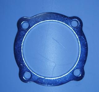 Bild 4-håls förkromad avgas-fläns