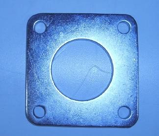 Bild 4-håls förkromad avgasfläns
